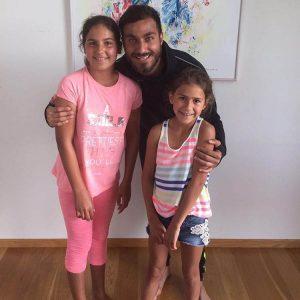 دو دختری که همدم سوشا مکانی در این روزها شده اند + عکس