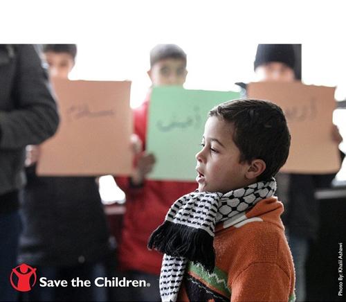 حمایت ویژه کریستیانو رونالدو از کودکان سوری + عکس