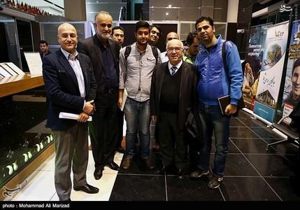 ورود رئیس فدراسیون فوتبال ایتالیا به تهران + تصاویر