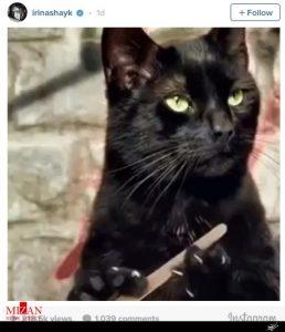 اقدام جنجالی نامزد پیشین رونالدو هنگام ضربات پنالتی دیدار پرتغال + عکس