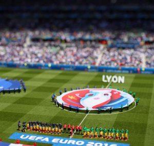 دو نمای زیبا از بازی فرانسه و ایرلند + عکس