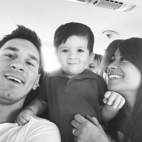 مسی در انتظار فرزند دومش! + عکس