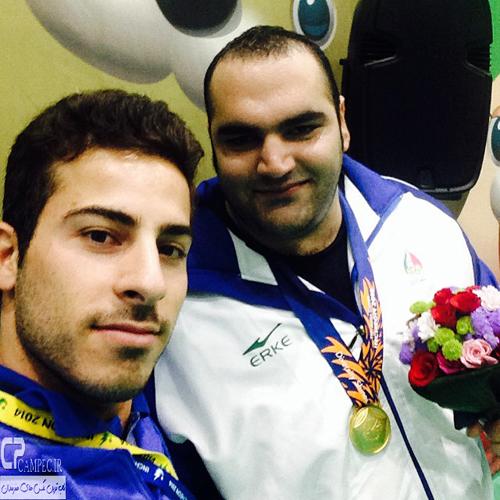 عکس های جدید قهرمانان و مدال آوران ایرانی در بازیهای آسیایی اینچئون