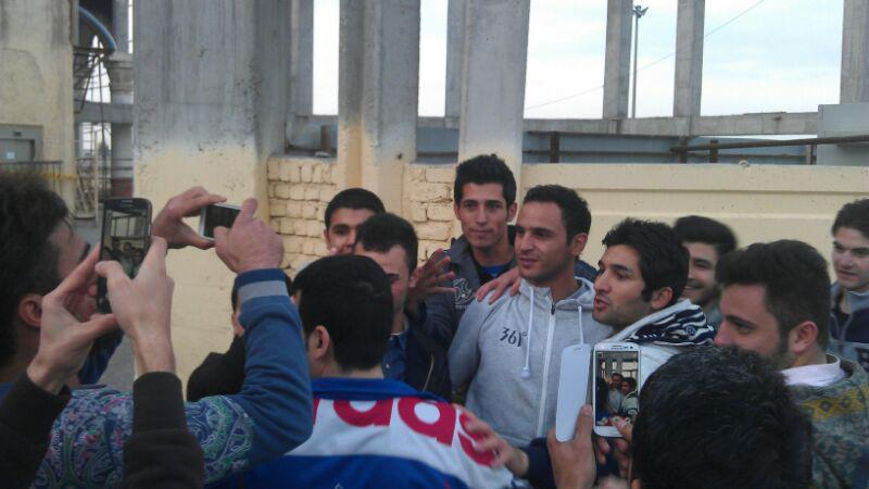 حضور بازیکنان استقلال در مسجد مقدس جمکران + تصاویر