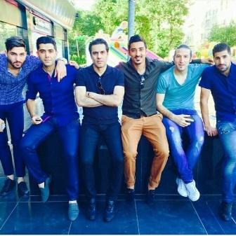 دورهمی بازیکنان خوشتیپ تیم ملی در خیابان های تاشکند + عکس