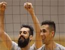 تمرین پرهیجان ملیپوشان والیبال ایران در ژاپن