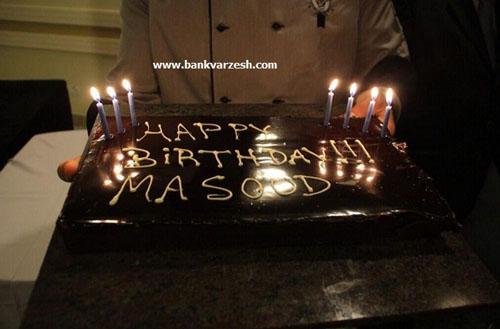 جشن تولد ۳۰ سالگی مسعود شجاعی در سائوپائولو + تصاویر