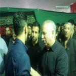 چهرههای مطرح فوتبال در عزاداری امام حسن عسگری(ع) + تصاویر