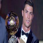 رونالدو با توپهای طلای خود عکس گرفت