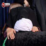 وداع وزیر ورزش با پیکر آیتالله هاشمی رفسنجانی + عکس