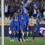 برتری استقلال 10 نفره مقابل پرسپولیس |سلام دوباره آبی ها به لیگ