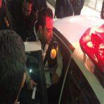 ستاره بزرگ بارسلونا به تهران آمد| ژاوی را با ماشین پلیس بردند + تصاویر