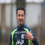 اقدام جالب بازیکن استقلال در روز اعتصاب دوستانش +عکس