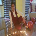 جشن تولد یک پرسپولیسی در لحظات تحویل سال +عکس