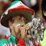 متعصب ترین هوادار تیم ملی فوتبال ایران در بازی با قطر +عکس