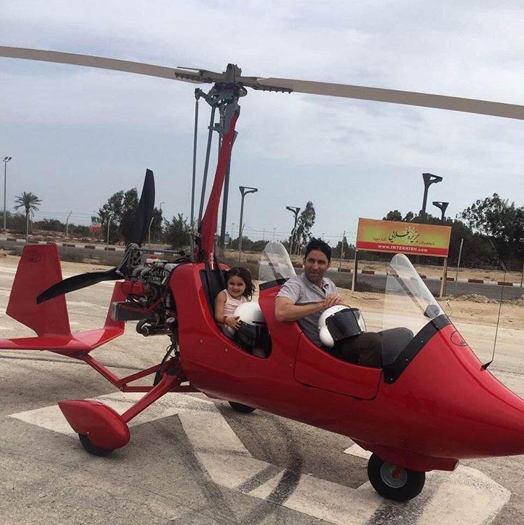هلیکوپتر فوتبال ایران
