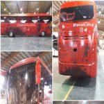 اتوبوس جدید پرسپولیس نیامده حاشیهساز شد! +تصاویر