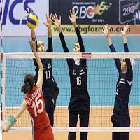 دیدار والیبال بانوان ایران و آذربایجان و اشتباه وحشتناک در نتیجه بازی