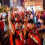 شادی هواداران پرسپولیس در خیابانهای تهران +تصاویر