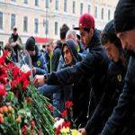 عزتاللهی ملیپوش ایرانی در محل یادمان قربانیان انفجار متروی سنپترزبورگ! +تصاویر