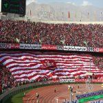 حضور پروین و بزرگان پرسپولیس در ورزشگاه آزادی +عکس