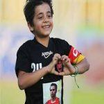 پسر مرحوم هادی نوروزی و دلنوشته او در آستانه روز پدر +عکس