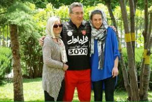 برانکو ایوانکوویچ و همسرش در کاخ سعدآباد!