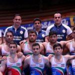 قهرمانی تیم ملی کشتی آزاد ایران در آسیا