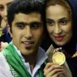 عکس های مجتبی میرزاجانپور و همسرش نیلوفر ابراهیمی