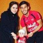 علی علیپور به همراه همسر و فرزندش در تعطیلات تابستانی