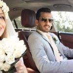 عکس جدید از عروسی احسان حاج صفی و همسرش