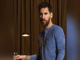 عکس های تبلیغاتی لیونل مسی در دنیای مد و لباس