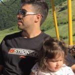 نوشته خسرو حیدری برای جشن تولد دخترش روشنا