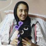 جشن تولد 19 سالگی کیمیا علیزاده در بیمارستان