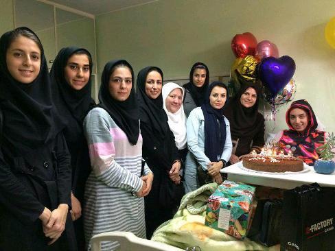 جشن تولد 19 سالگی کیمیا علیزاده