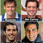 شباهت عجیب چهره برخی از ورزشکاران و هنرمندان