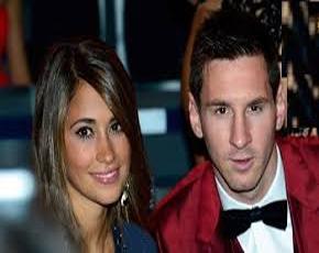 تیپ جالب مثلث مرگبار بارسلونا در شب عروسی مسی