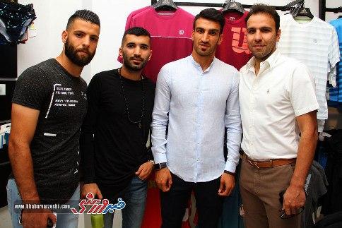 افتتاحیه فروشگاه جدید علی دایی