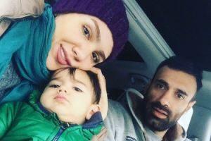 عکس هایی از عادل غلامی در کنار همسر و فرزندش