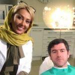 ادموند بزیک و علی انصاریان در مطب خانم دکتر دندانپزشک سرشناس!