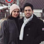 سارا خادم الشریعه شطرنج باز کشورمان و همسرش در ایتالیا