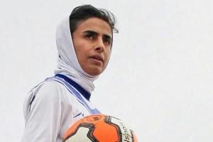 سارا قمی خانم گل فوتبال ایران با لقب سارادونا!