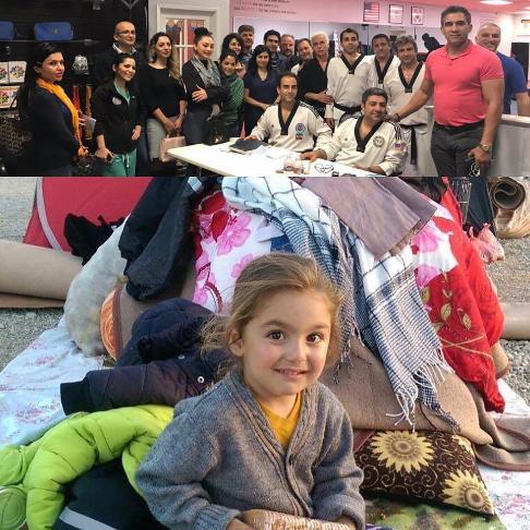کمک عابدزاده به زلزله زدگان
