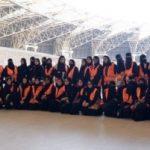 اولین حضور زنان عربستانی در ورزشگاه برای تماشای فوتبال!