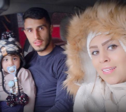 علی علیپور و همسرش