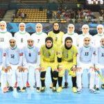 عجیب ترین عکس از بازی فوتسال زنان ایران و روسیه!