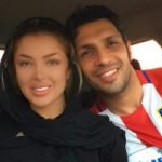 تبریک سپهر حیدری به همسر و پسرش دیاکو به مناسبت روز عشق