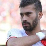 جشن تولد ۲۸ سالگی رامین رضاییان در اردوی تیم ملی