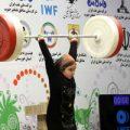 پیام جالب نایب رییس IWF پس از وزنه زدن دختربچه اردبیلی در مسابقه مردان