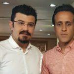 آشتی کنان علی کریمی و مجری استقلالی با وساطت خانم بازیگر